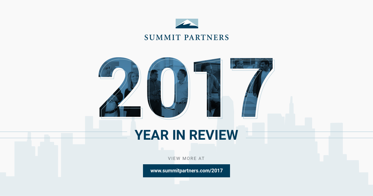 Summit Partners Year in Review