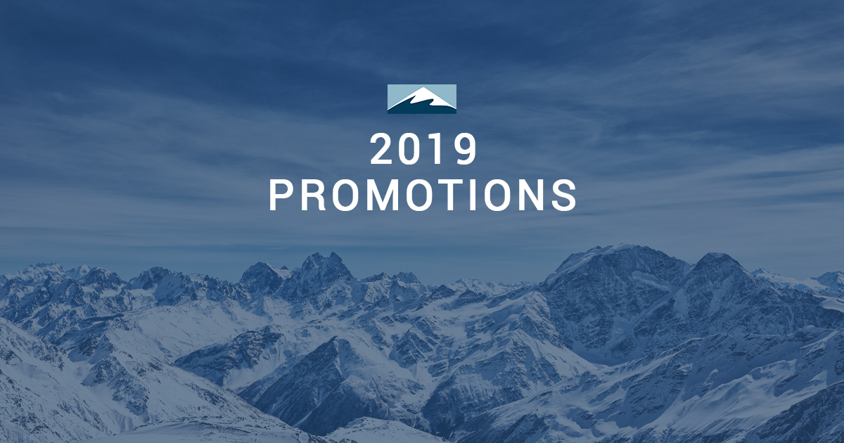 Summit Partners 2019 Promotions
