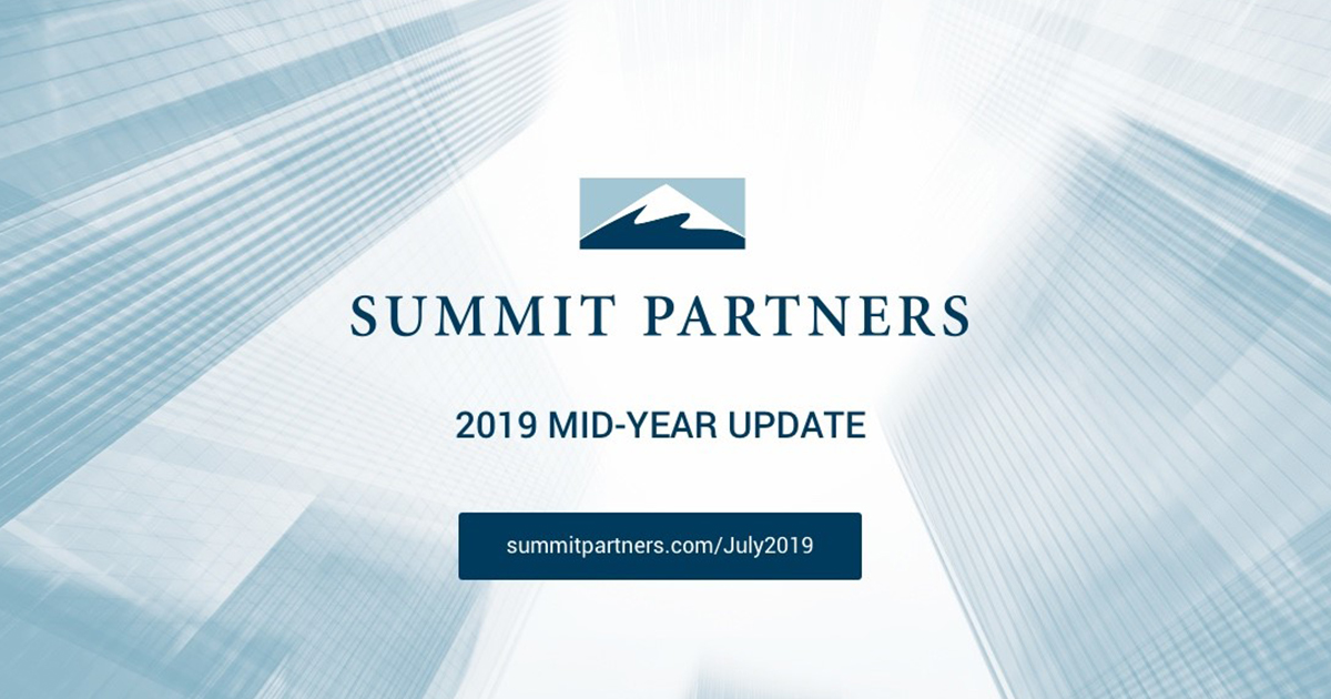 Summit Partners, 2019 Mid-Year Update