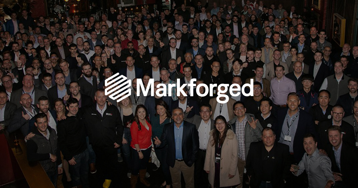Markforged, Summit Partners
